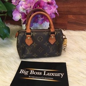 Auth Preowned Louis Vuitton mini speedy monogram